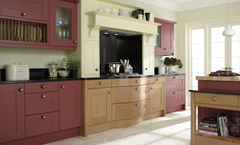Custom painted kitchens