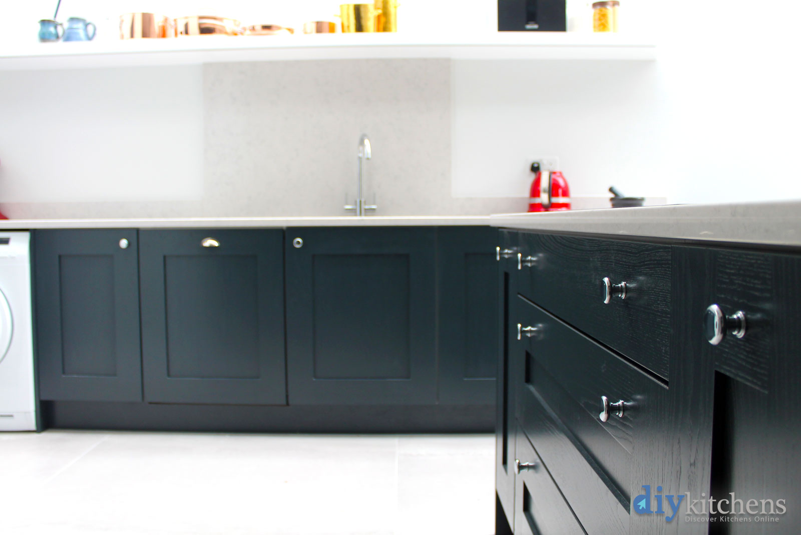 Start styling for Wickes kitchen carcass
