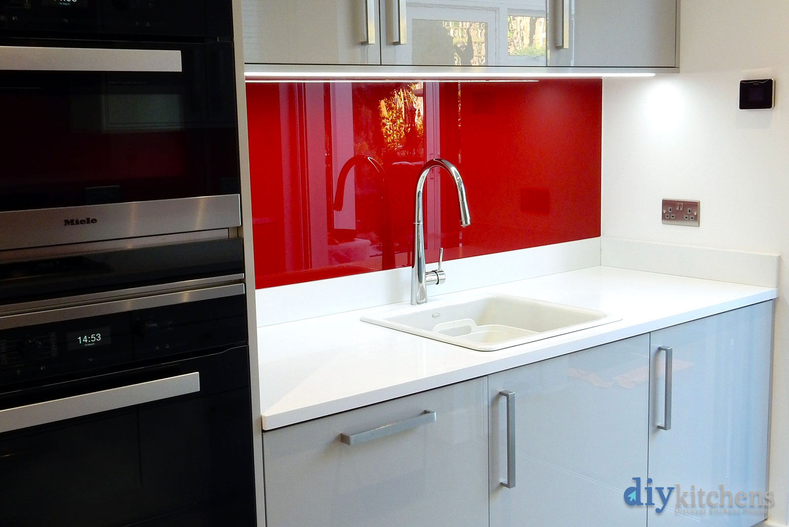 Ewart from london photos attached of this installation for Diy kitchens com reviews