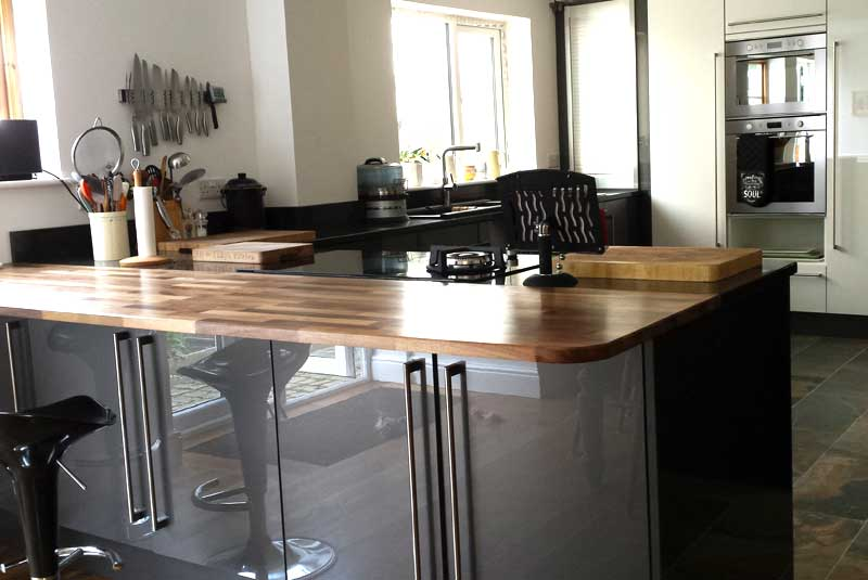 Customer review of altino graphite by alison from gretton for Diy kitchens com reviews