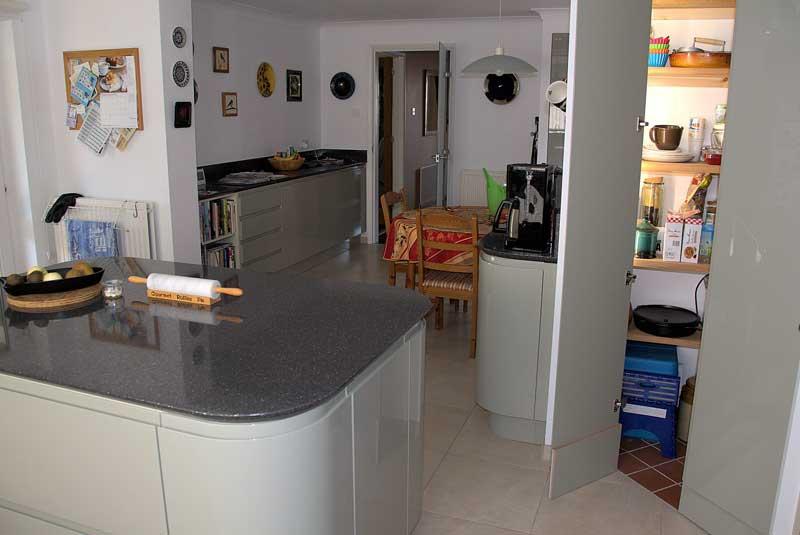 Diy Kitchens Luca Gloss Sage