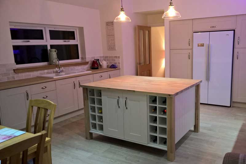 How to connect your kitchen cabinets diy kitchens advice for Diy kitchens com reviews