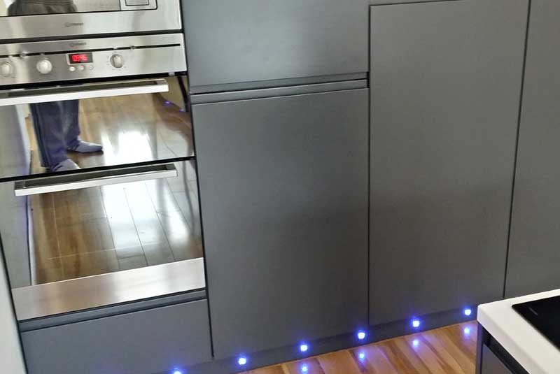 Linwood carbon for Wickes kitchen carcass