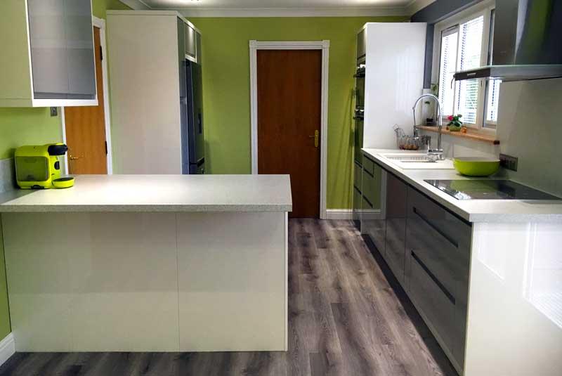 Remo dove grey for Diy kitchens com reviews