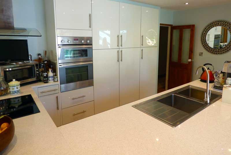 Luca gloss graphite for Diy kitchens com reviews