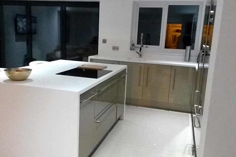 Bedale white for Perfect kitchen pontefract
