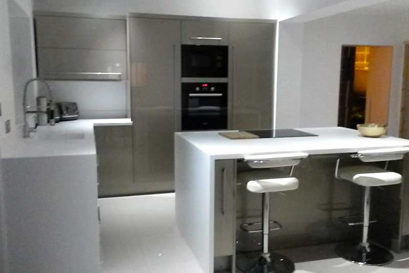 Altino white for Perfect kitchen pontefract