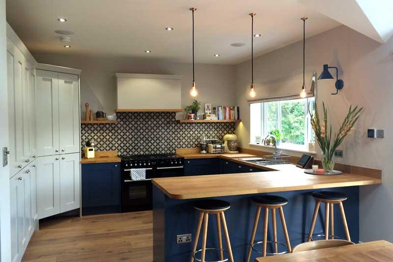 Malton painted dakar for Diy kitchens com reviews