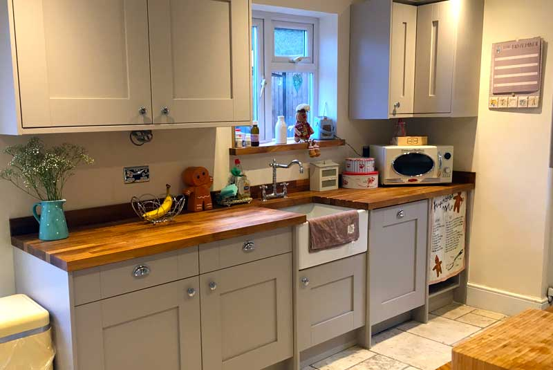Alicia from essex just wanted to say how lovely our for Diy kitchens com reviews
