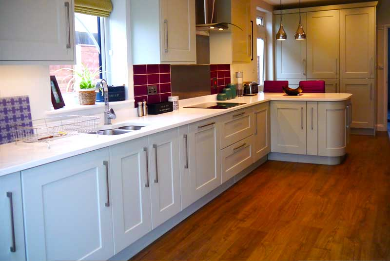 helen from middlesex stanbury bespoke zoffany platinum grey On kitchen 919 reviews