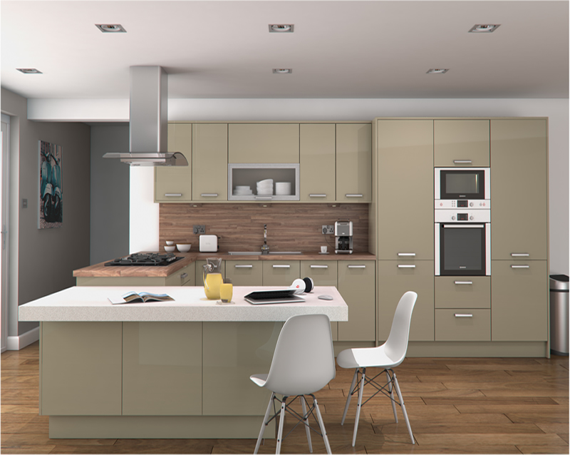 Feature doors specifications cornice pelmet recommended for Service void kitchen units