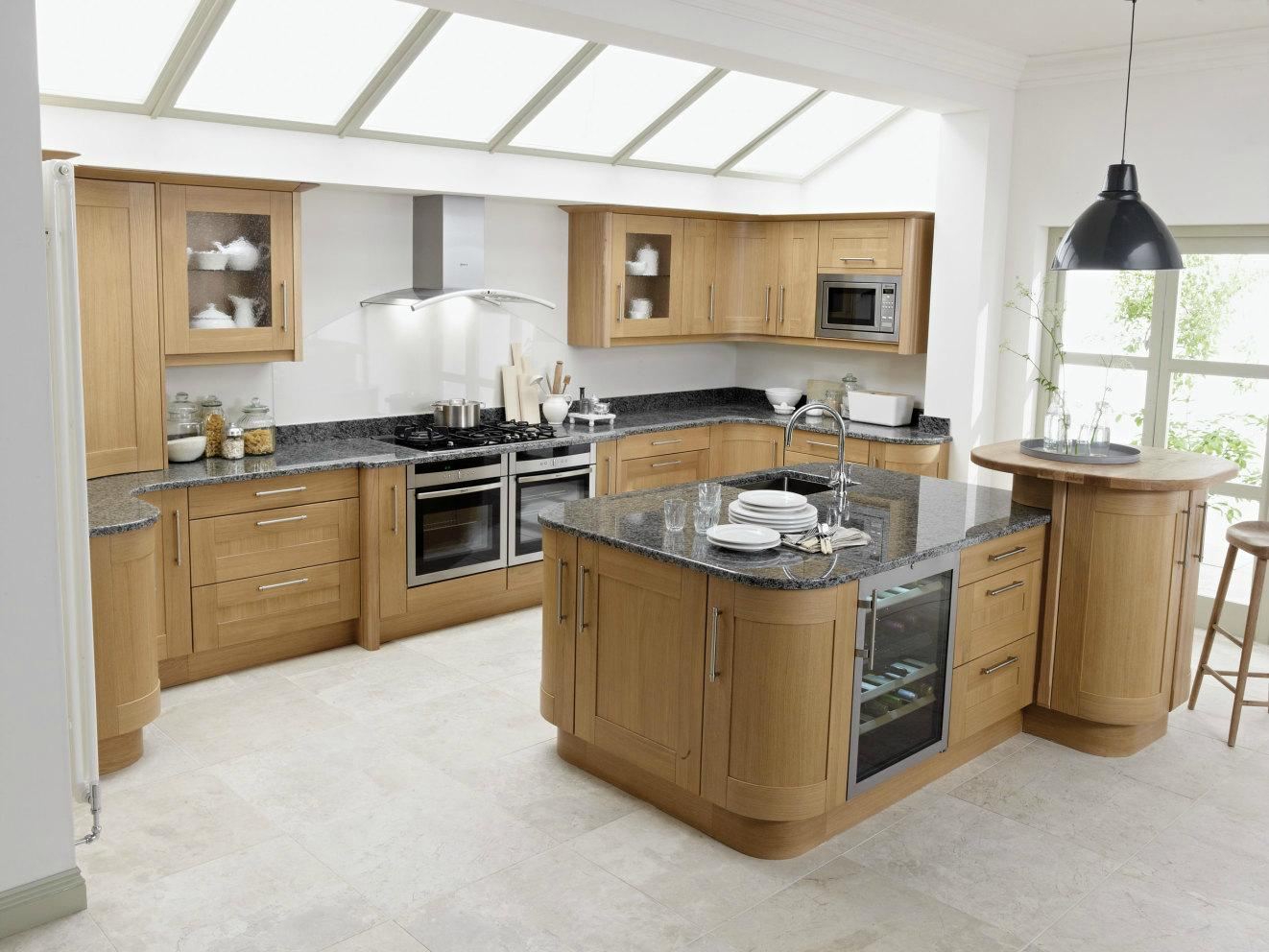 Achieve the natural look with this warm and welcoming for Service void kitchen units