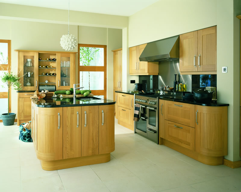 Broadoak natural kitchens units for Service void kitchen units