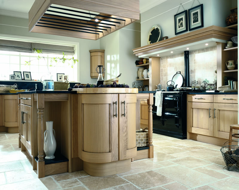 Homely pure with an unmistakable rustic charm croft washed for Service void kitchen units