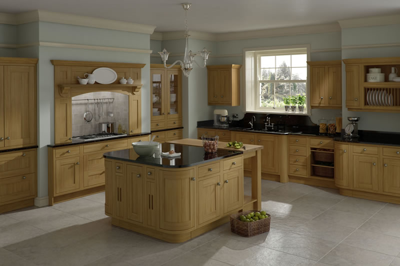 Innova - Harewood Oak Kitchens & Units