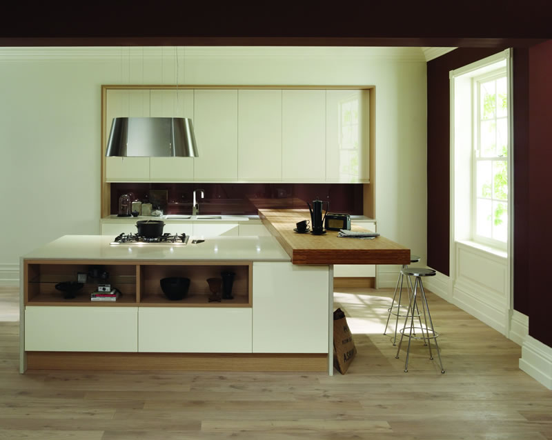 Feature doors specifications cornice pelmet worktop ideas for Service void kitchen units