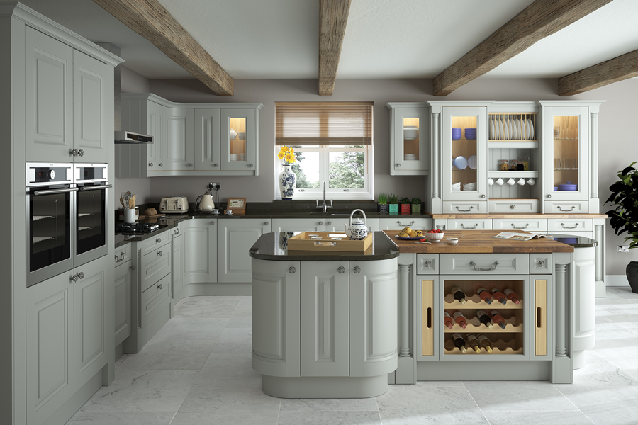 Light Grey Cabinets In Kitchen Nagpurentrepreneurs - Light grey kitchen units