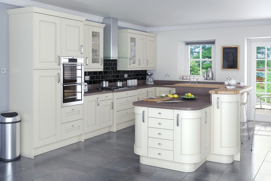 Innova welton vanilla kitchens units for Service void kitchen units