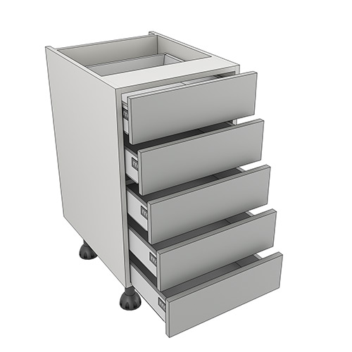 450mm 5 drawer pack for 300mm deep kitchen units