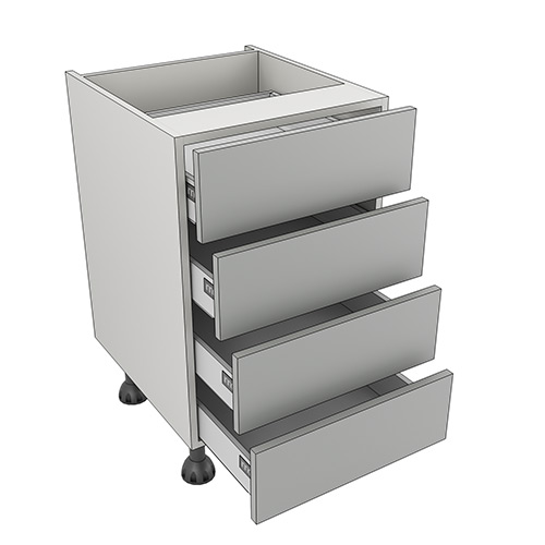 500mm four drawer pack