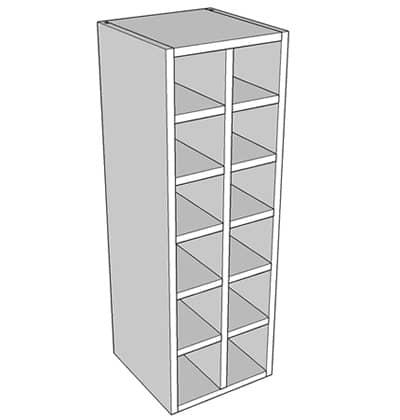 300mm wall wine rack 900 high - Tall corner wine rack ...
