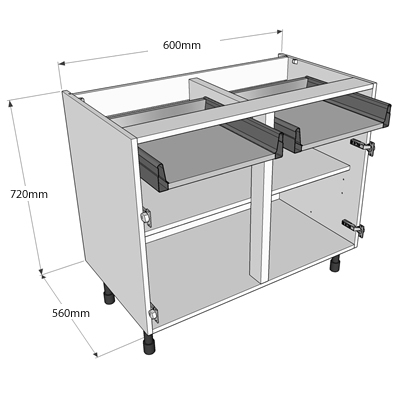 Exact Size Of Mm Kitchen Units