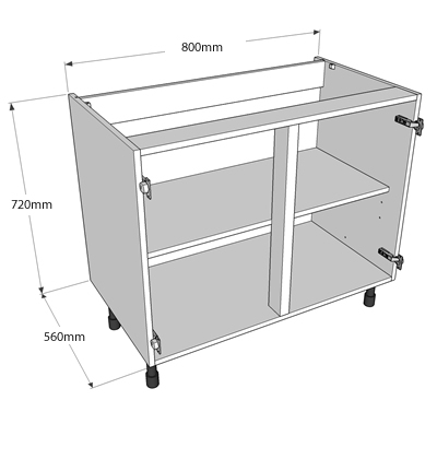 Now offer 3 levels of delivery for complete kitchens we for Wickes kitchen carcass