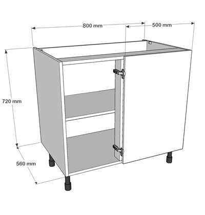 Now offer 3 levels of delivery for complete kitchens we for Complete kitchen base units