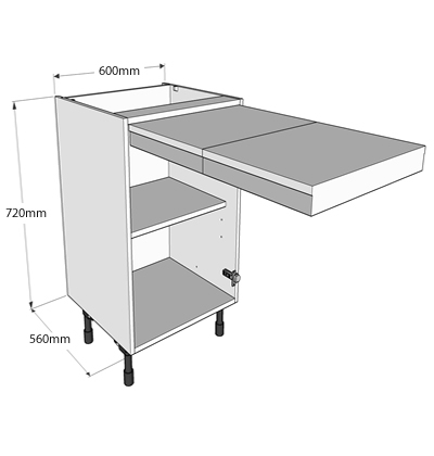 Now offer 3 levels of delivery for complete kitchens we also have a delivery option if you - Pull out kitchen table ...