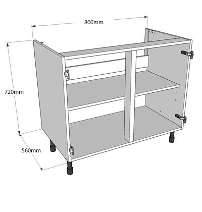 Kitchen Dresser Base Unit