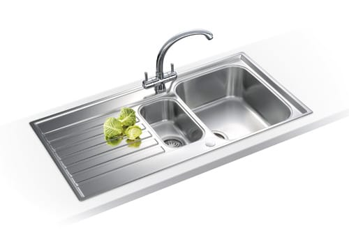 How To Fit A Franke Sink : Franke - A Reversible One And A Half Bowl, Single Drainer Inset Sink ...
