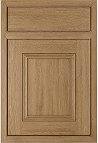 Ayton oak for Cheap kitchen unit doors