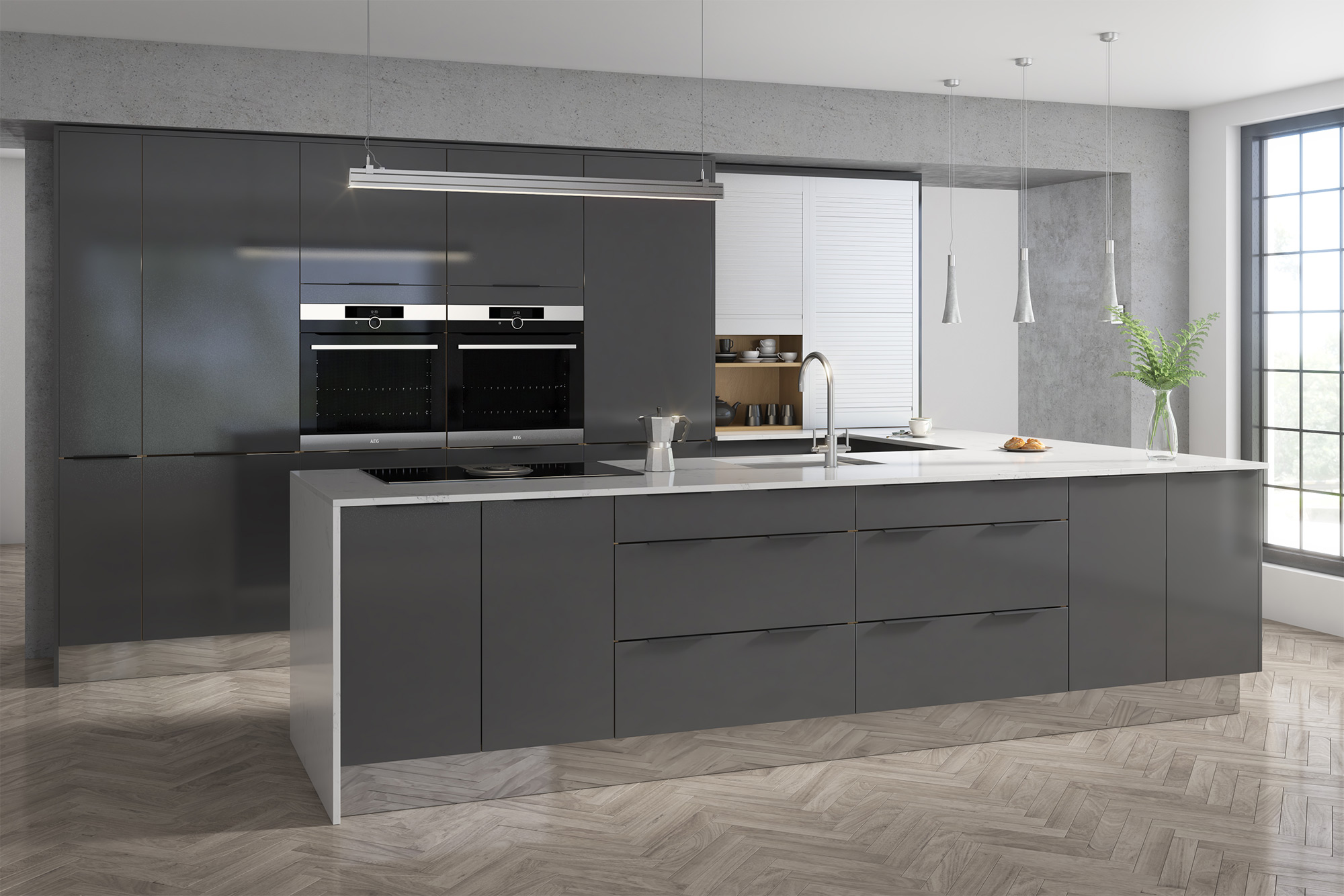 buy altino graphite kitchen doors at trade prices