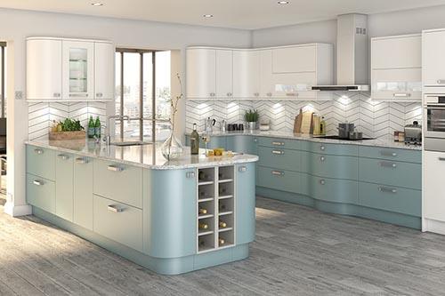 Bespoke painted kitchens