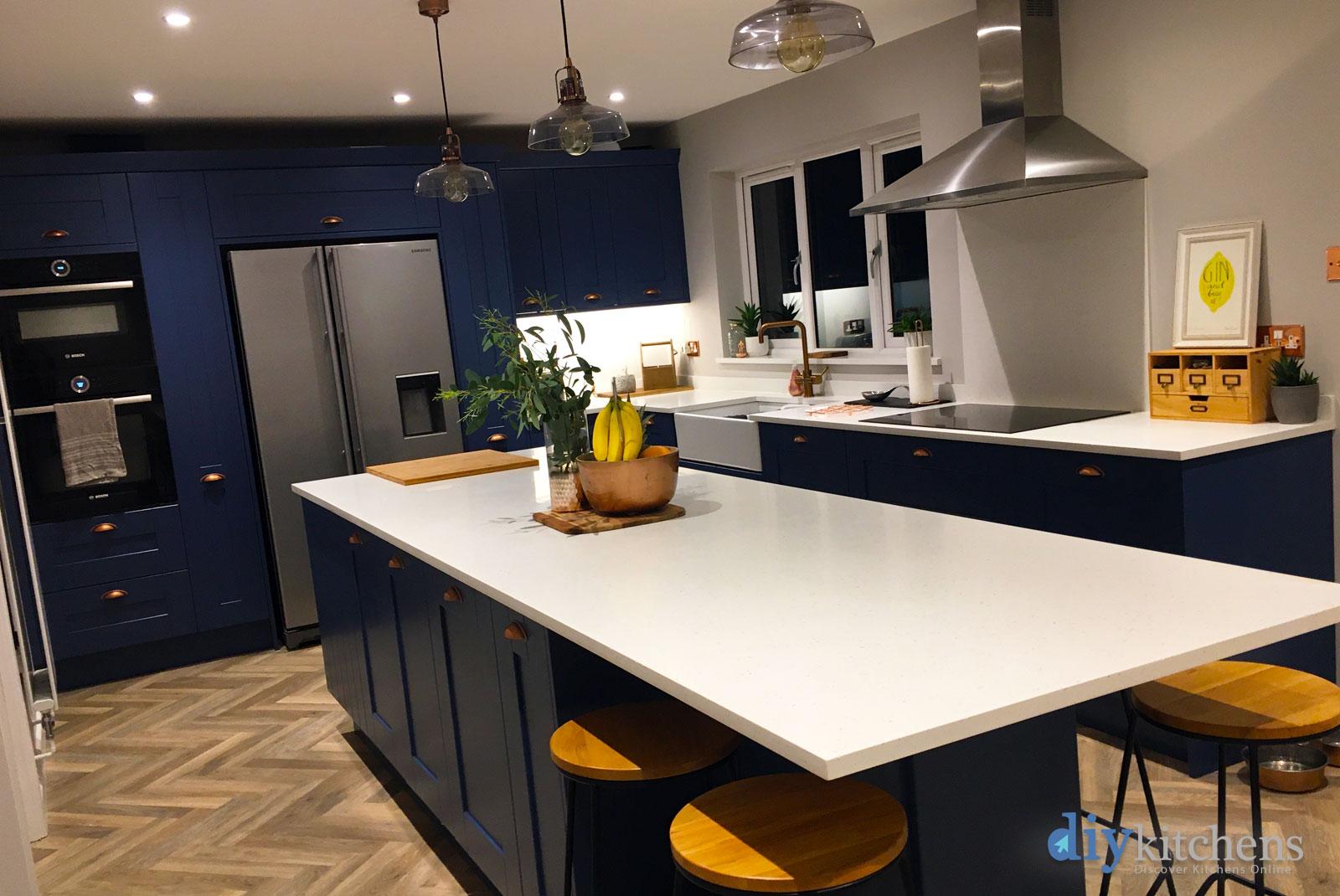 Shaker Bespoke Painted Real Kitchens