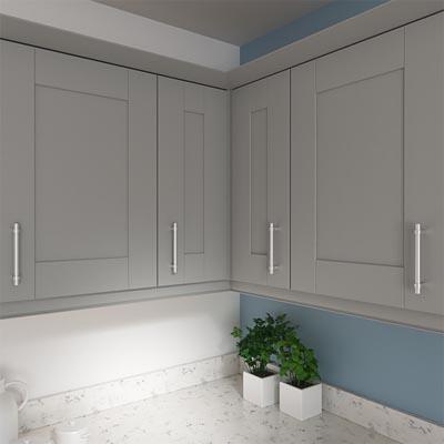 Corner Wall Units Kitchen Diy, How To Level Kitchen Unit Doors