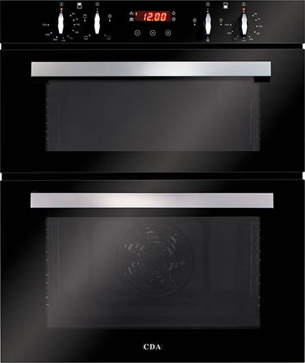 Built-under double oven