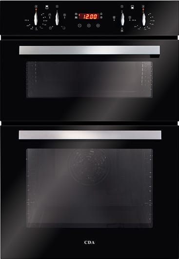 Built-in double oven