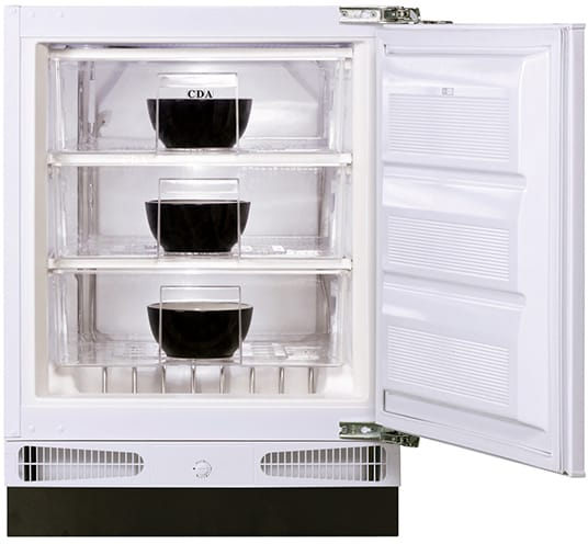 60cm integrated/ under counter freezer