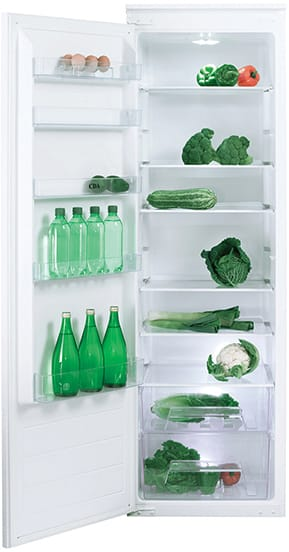 Integrated full height larder fridge