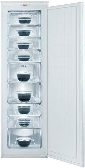 Integrated full height freezer