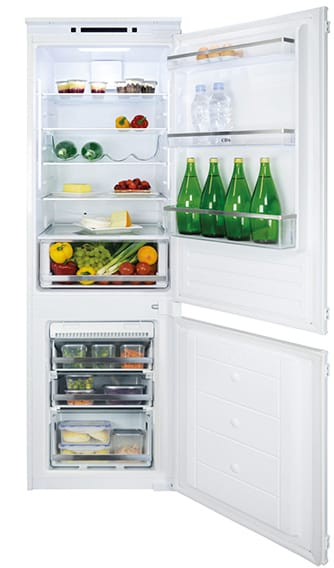 Integrated 70/30 fridge freezer