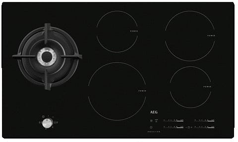 5 Burner Mixed Fuel Hob