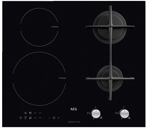 4 Burner Mixed Fuel Hob