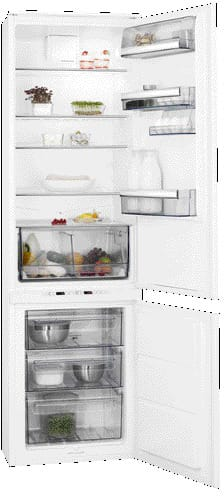 Extra Tall Integrated Fridge Freezer
