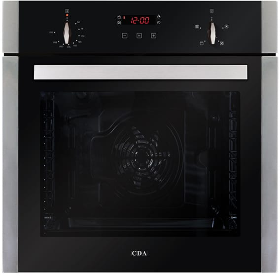 Four function large capacity single oven