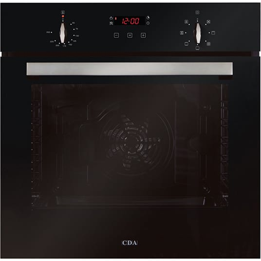Seven function large capacity single oven