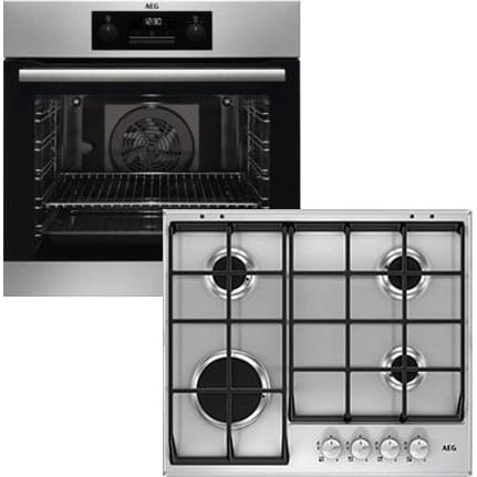 Pyrolytic Multifunction Oven & Gas Hob Pack