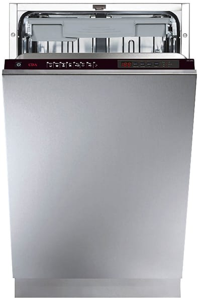 45cm integrated slimline dishwasher
