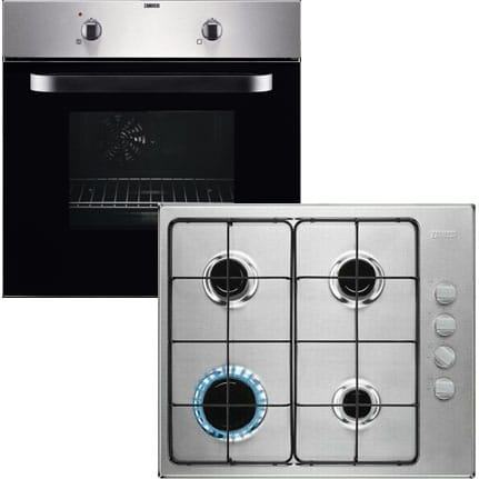 Electric Fan Oven & Gas Hob Pack
